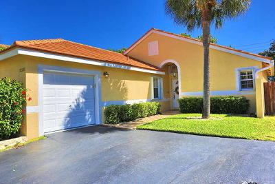 Boca Raton Single Family Home For Sale: 22260 Tempo Way