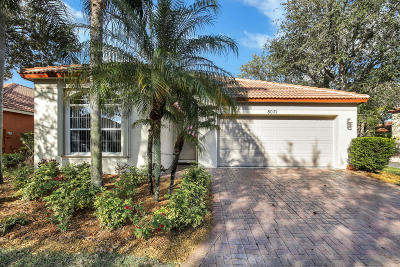Palm Beach Gardens Single Family Home For Sale: 8071 Via Hacienda