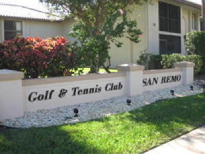 San Remo, San Remo Cond, San Remo Cond Decl In, San Remo Condo, San Remo Golf & Tennis Club, San Remo Golf & Tennis Club Cond, San Remo Golf & Tennis Club Condo Condo For Sale: 350 Club Circle #206