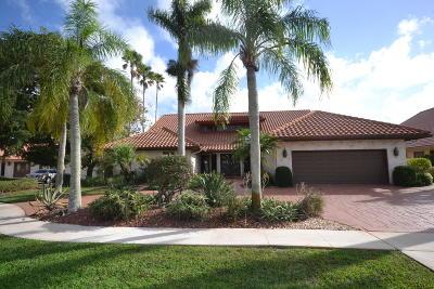 Boca Raton Single Family Home For Sale: 10842 Pine Bark Lane