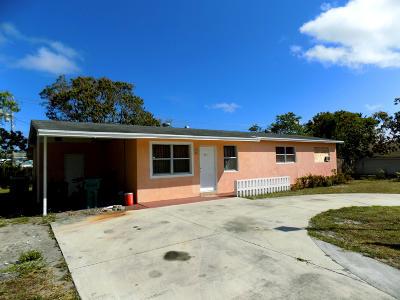 Boynton Beach Single Family Home For Sale: 405 E Gateway Bl