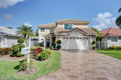 Boca Raton Single Family Home For Sale: 21300 Sawmill Court