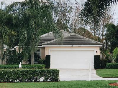 Palm City Single Family Home For Sale: 3409 SW Pindo Palm Lane