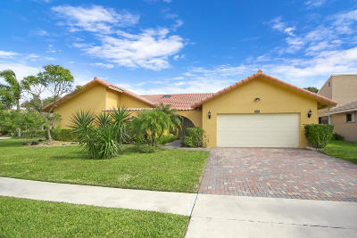 Boynton Beach Single Family Home For Sale: 2636 SW 23rd Cranbrook Court