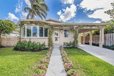 West Palm Beach Single Family Home For Sale: 256 Alpine Road