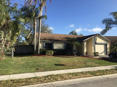 Jupiter Single Family Home For Sale: 127 Rosewood Circle