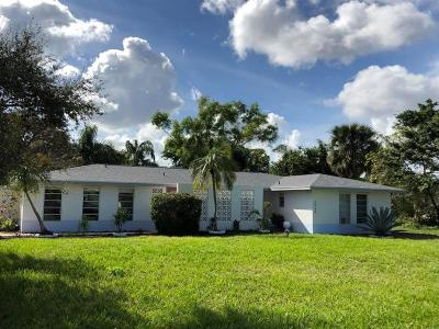 Stuart Single Family Home For Sale: 5960 SE Normandy Avenue