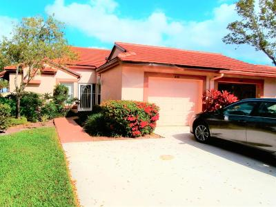Boynton Beach Single Family Home For Sale: 6101 Brightwater Terrace