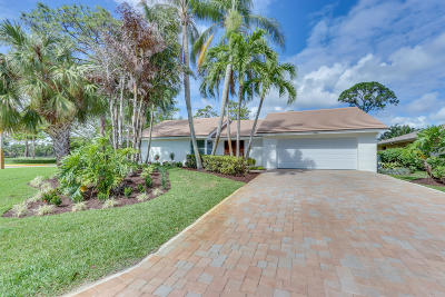 Palm Beach Gardens Single Family Home For Sale: 6439 Woodthrush Court