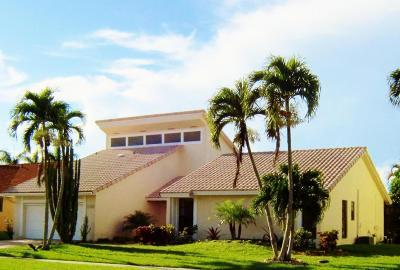 Boca Raton Single Family Home For Sale: 21005 Madria Circle