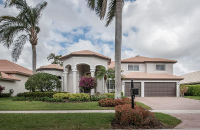 Boca Raton Single Family Home For Sale: 20167 Palm Island Drive