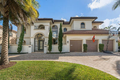 Delray Beach Single Family Home For Sale: 942 Allamanda Drive
