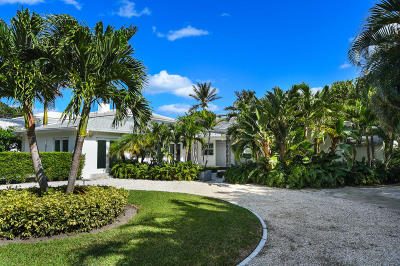 West Palm Beach Single Family Home For Sale: 3014 Flagler Drive