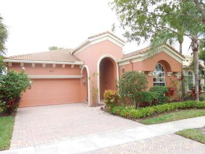 Wellington Single Family Home For Sale: 9817 Via Elegante