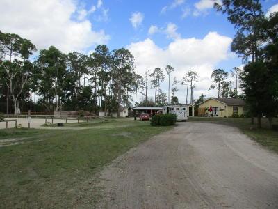 Loxahatchee Single Family Home For Sale: 1615 E Road