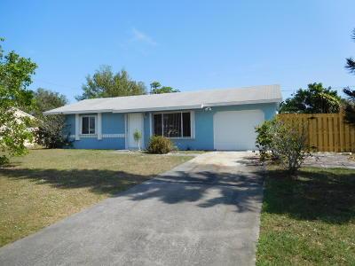 Vero Beach Single Family Home Contingent: 2056 7th Court SW