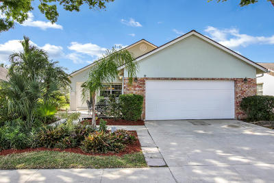 Jupiter FL Single Family Home For Sale: $339,900