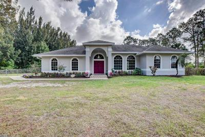 West Palm Beach Single Family Home For Sale: 13132 89th Place