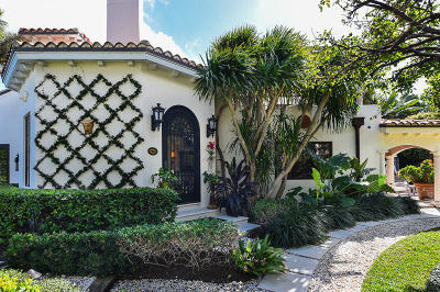 West Palm Beach Single Family Home For Sale: 2701 S Flagler Drive