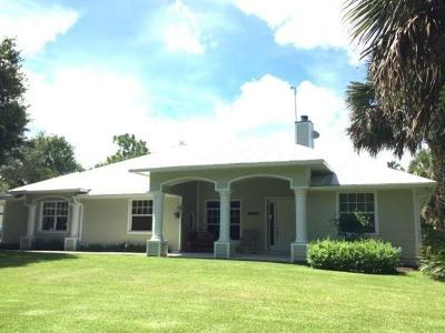 Port Saint Lucie Single Family Home For Sale: 18701 Kitty Hawk Court