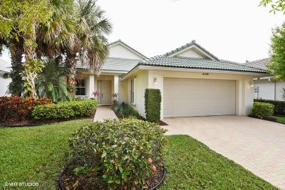 West Palm Beach Single Family Home For Sale: 2314 Sailfish Cove Drive