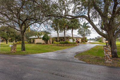 Lake Worth Single Family Home For Sale: 4721 Hunting Trail