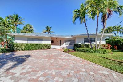 Boynton Beach Single Family Home For Sale: 635 Riviera Drive