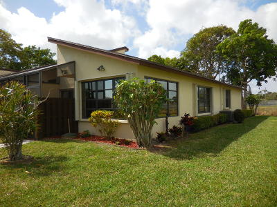 Delray Beach Single Family Home For Sale: 13959 Nesting Way #D