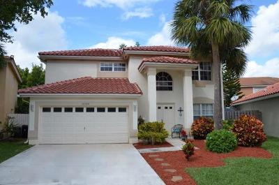 Boca Raton Single Family Home For Sale: 10789 Cypress Lake Terrace