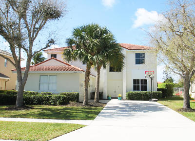 Lake Worth Single Family Home For Sale: 6323 Shadow Tree Lane