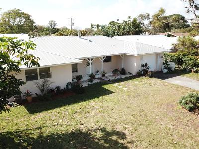 Tequesta Single Family Home For Sale: 4228 County Line Road