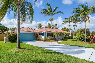 Boynton Beach Single Family Home For Sale: 3525 S Lake Drive