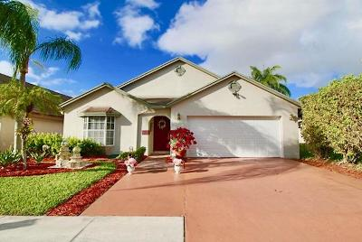 West Palm Beach Single Family Home For Sale: 5115 Foxhall Drive S