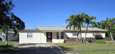 Delray Beach FL Single Family Home For Sale: $232,900