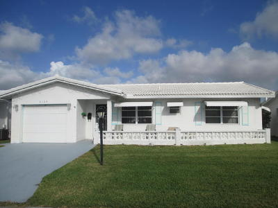 Boynton Beach Single Family Home For Sale: 2105 SW 15th Street
