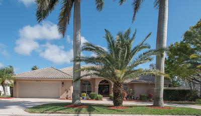 Boynton Beach Single Family Home For Sale: 4705 Bucida Road