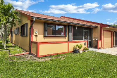 Boynton Beach Single Family Home For Sale: 1 Flint Way