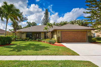 Wellington Single Family Home For Sale: 13636 Columbine Avenue