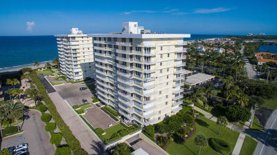 Juno Beach Condo For Sale: 500 Ocean Drive #W 10 D