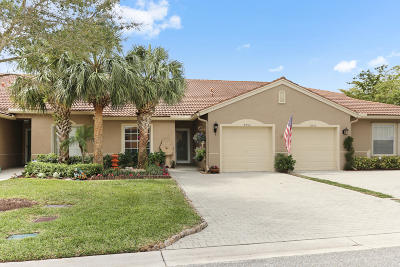Boynton Beach Single Family Home For Sale: 8552 Logia Circle