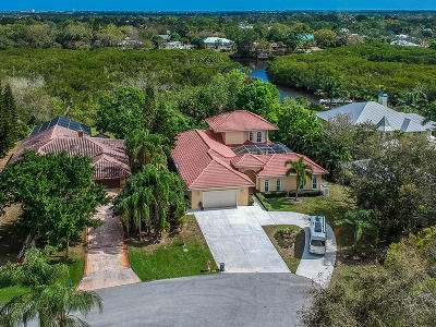 Palm City Single Family Home Contingent: 845 SW Wisper Bay Drive