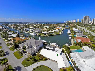 Singer Island Single Family Home For Sale: 1280 Bimini Ln