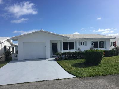 Boynton Beach Single Family Home For Sale: 1509 Alfred Drive