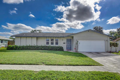Boca Raton Single Family Home For Sale: 1544 SW 13th Place
