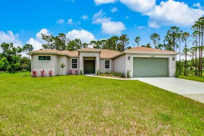 West Palm Beach Single Family Home For Sale: 12391 57th Road