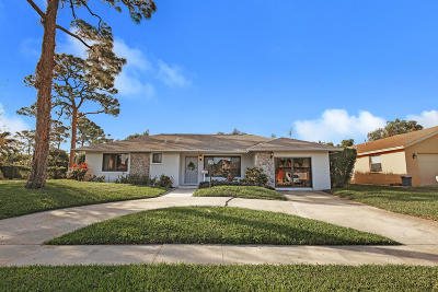 Lake Worth Single Family Home For Sale: 4276 Mediterranean Road