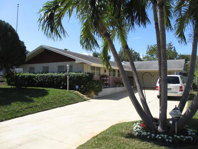 Lake Worth Single Family Home For Sale: 509 Virginia Drive