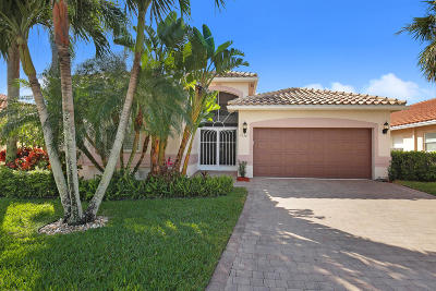 Boynton Beach Single Family Home For Sale: 7158 Treviso Lane