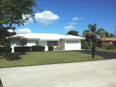 Boca Raton Single Family Home For Sale: 2099 Park Place