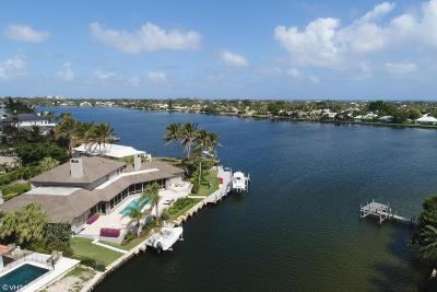 North Palm Beach Single Family Home For Sale: 1454 Point Way